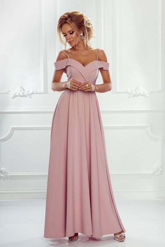 Prekrásne spoločenské šaty s rázporkom 3177