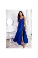 Elegantné dámske šaty s rázporkom 3415