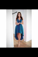 Nádherné dámske šaty s rázporkom 3444