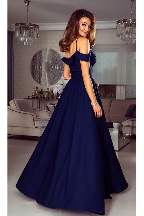 Prekrásne spoločenské šaty s rázporkom 3125
