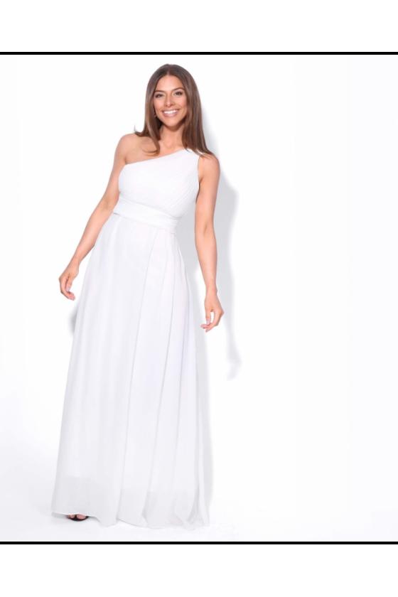 Elegantné spoločenské/svadobné šaty 3037