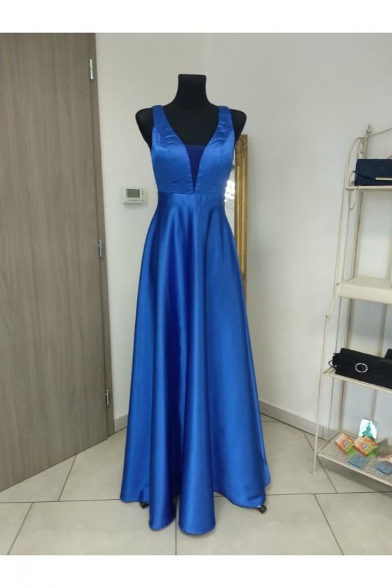 Elegantné spoločenské šaty 3446