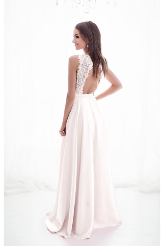 Pôvabné svadobné šaty 30025