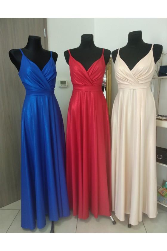 Pôvabné spoločenské šaty 3021