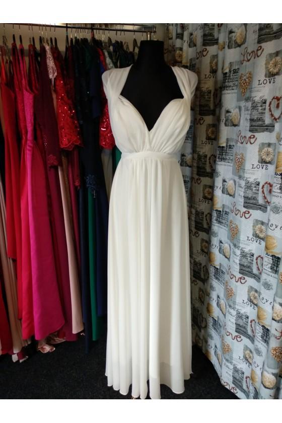 Nádherné šaty s rôznym viazaním 30026