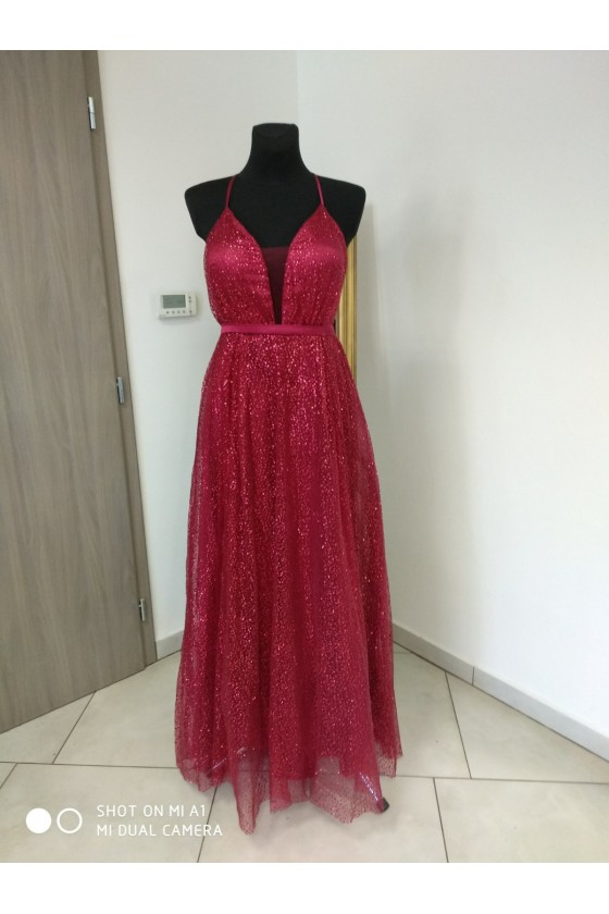 Prekrásne trblietavé šaty 3347