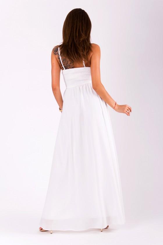 Spoločenské/svadobné šaty aj pre tehotné 3382