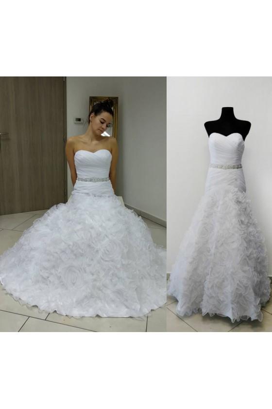 Nádherné svadobné šaty 30048