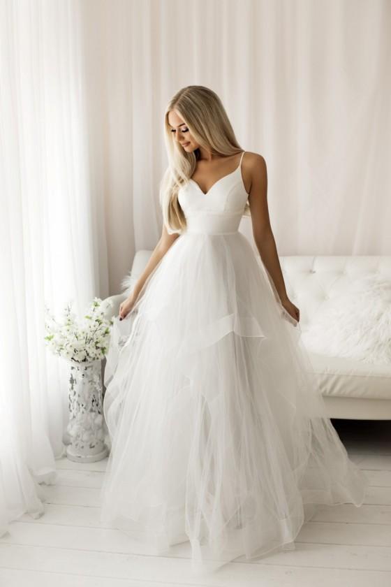 Nádherné svadobné šaty 30049