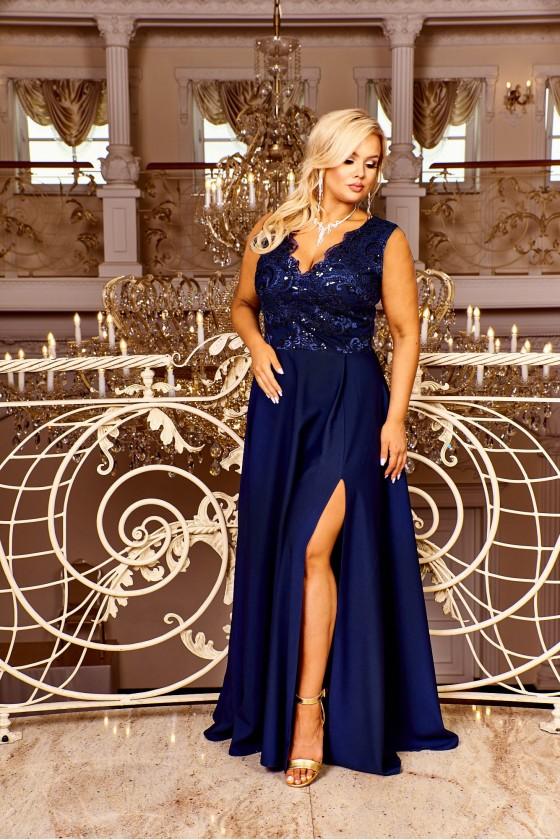 Pôvabné dámske šaty 30056