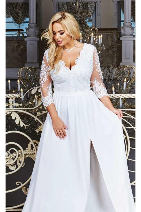 Svadobné šaty pre moletky 30059