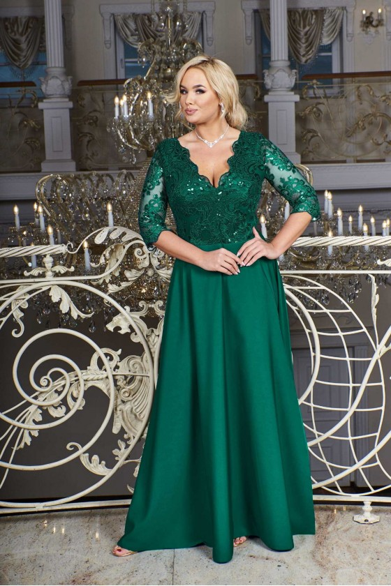 Elegantné dámske šaty 3406