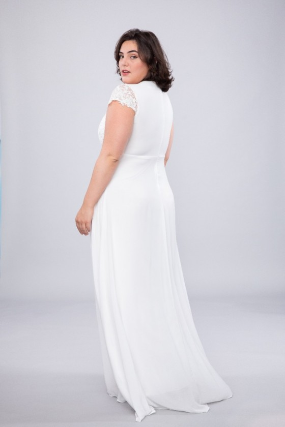Elegantné svadobné šaty 30066