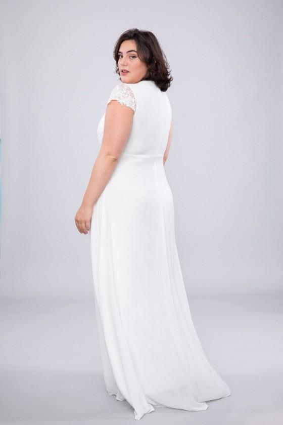 Elegantné svadobné šaty veľ.42 30066
