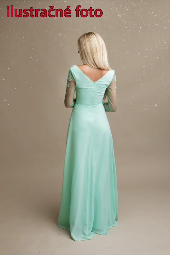Svadobné šaty s rukávom 30067