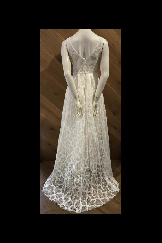 Čipkované svadobné šaty 30070