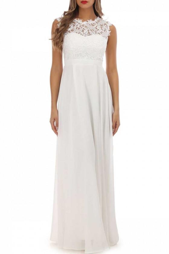Spoločenské/svadobné šaty aj pre tehotné 30050