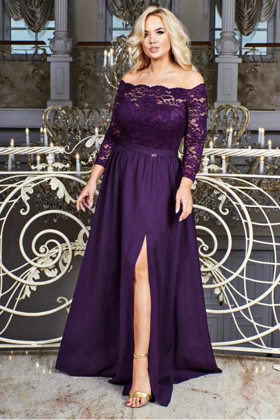 Nádherné dámske šaty s čipkou 3328