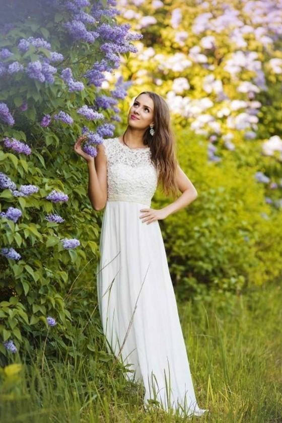 Pôvabné spoločenské/svadobné šaty 3072