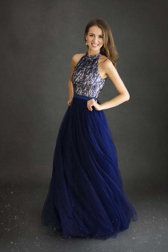 Dámske spoločenské šaty 30034