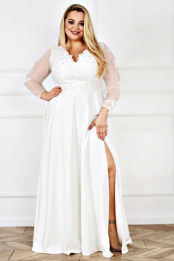 Spoločenské / svadobné šaty 30016
