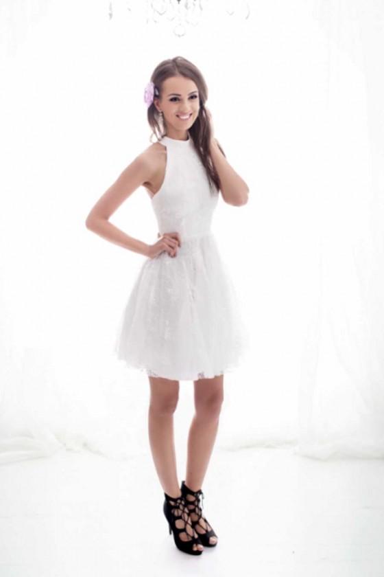 Dámske šaty s čipkou 3399