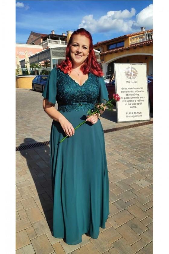 Pôvabné dámske šaty 30093