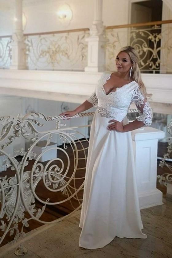 Svadobné šaty 3409