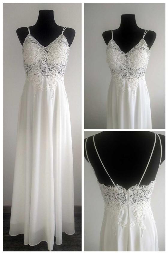 Nádherné svadobné šaty 30073