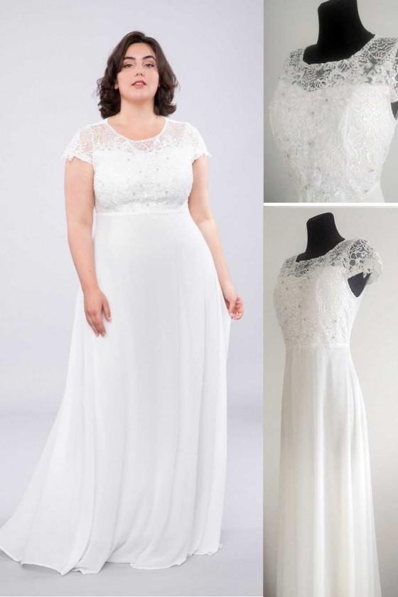 Elegantné svadobné šaty...