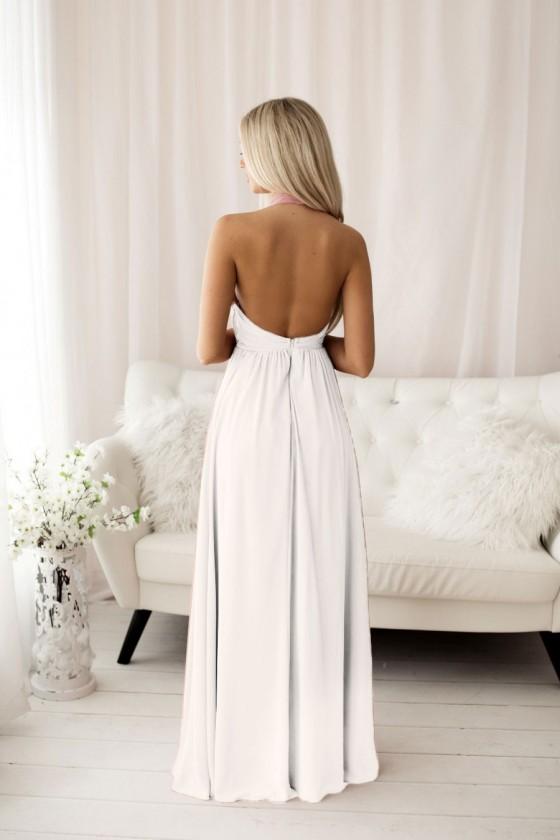 Pôvabné svadobné popolnočné šaty 30102