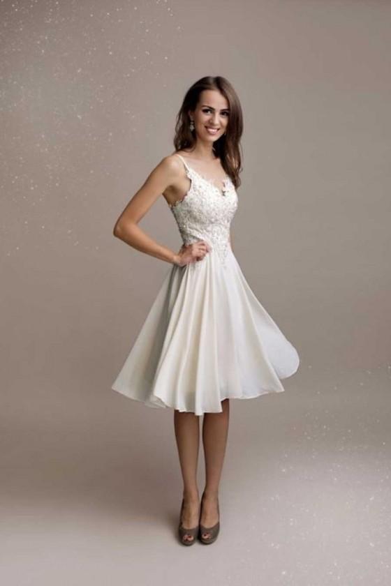 Romantické šaty 30113