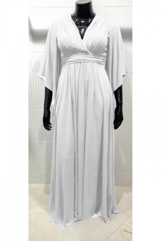 Jednoduché svadobné šaty aj pre moletky 30118