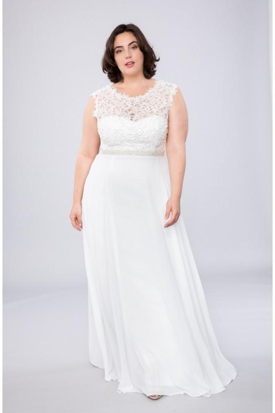Svadobné - popolnočné šaty...