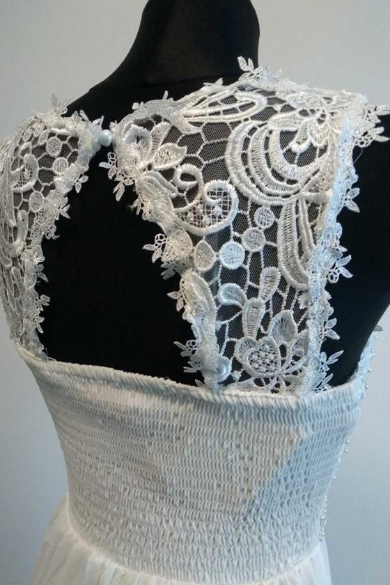 Svadobné - popolnočné šaty aj pre tehotné 30119