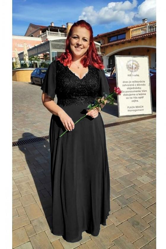 Nádherné dámske šaty 30028