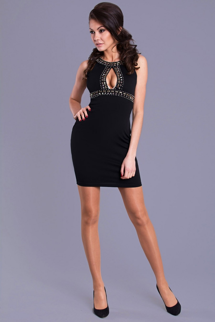Koktejlové šaty 1010