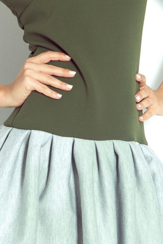 Krátke šaty s rukávom 1841