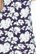 Kvietkované šaty 2163