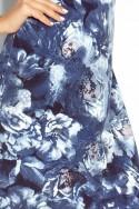 Dámske šaty s rukávom 2448